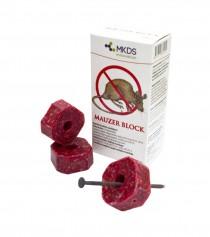 Mauzer Block, 100 g, pelių ir žiurkių naikinimui