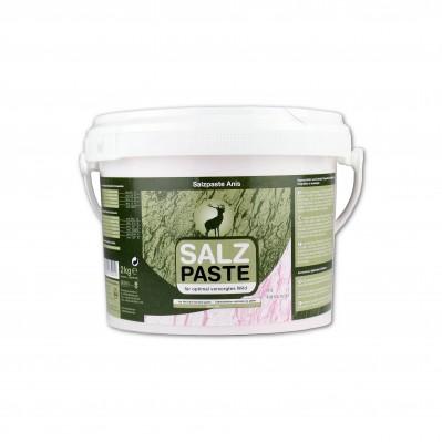 Triufelių kvapo laižoma druska žvėrims DEUSA, 2 kg