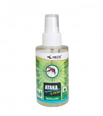 ATAKA Mosquitoes & Ticks – repelentas nuo uodų ir erkių, 100 ml