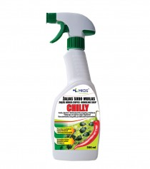 Žalias sodo muilas CHILLY, 500 ML