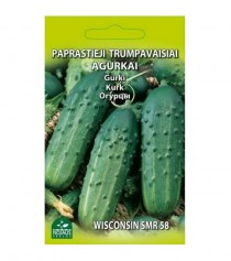 """Paprastieji trumpavaisiai agurkai ,,Wisconsin smr 58"""""""