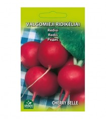 Valgomieji ridikėliai Cherry belle
