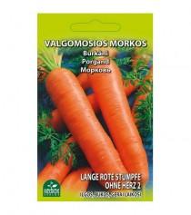 Valgomosios morkos  Lange rote stumpfe ohne herz 2